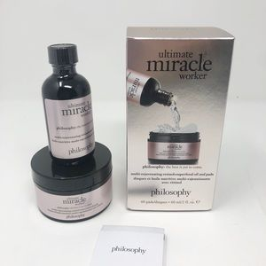 Philosophy Miracle Worker 2oz and 60 pads New